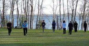 Sylvan Lake yoga retreat Morning meditation_800x415