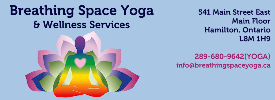 Breathing Space Yoga, Hamilton Ontario